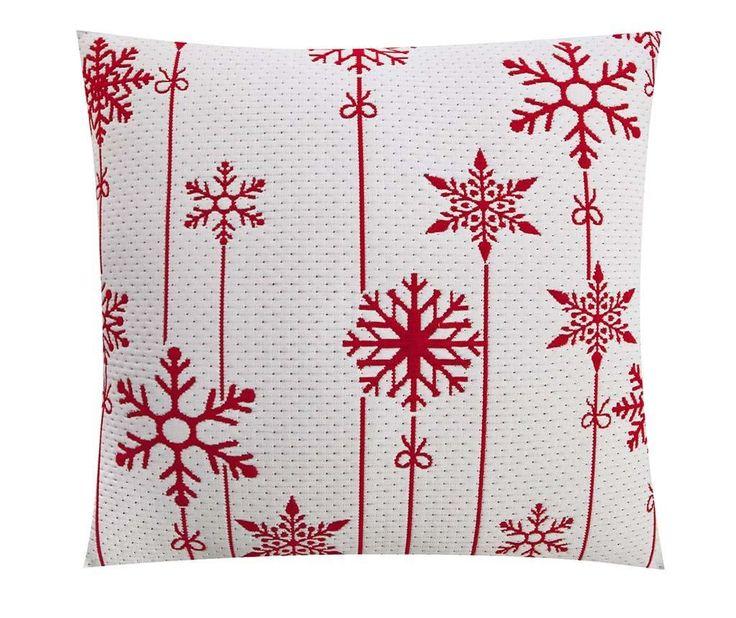 Snowflakes Decoration White Párnahuzat 50x50 cm - Vivre