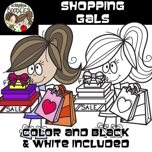 Shopping Gals – Scrappin Doodles
