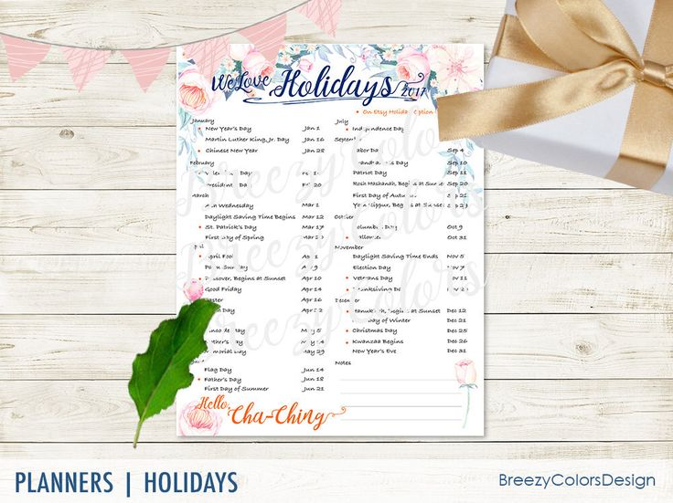 Watercolor 2017 Calendar Printable, Seasonal Business Planner, Marketing Materials, Keyword Brainstorming, Home Office Accessories, Dates by BreezyColorsDesign on Etsy https://www.etsy.com/listing/534692263/watercolor-2017-calendar-printable