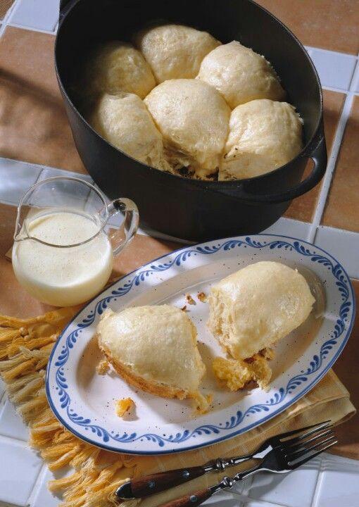 Dampfnudeln -- find the best German recipes @ www.Mybestgermanrecipes.com in English