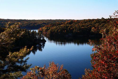 Back's Lookout Charleston Lake Ontario