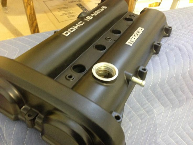Mat Black and Gold Cam Rocker Cover