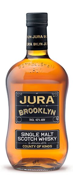 "Jura ""Brooklyn"" Whisky? ""County of Kings."" Can't tell if this product was made for U.S. or for Philipines..."