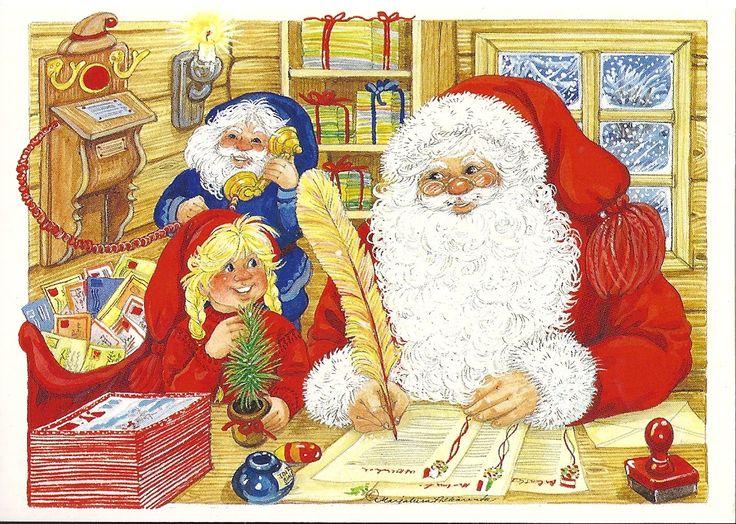 Joulupukin kirjeitä ...