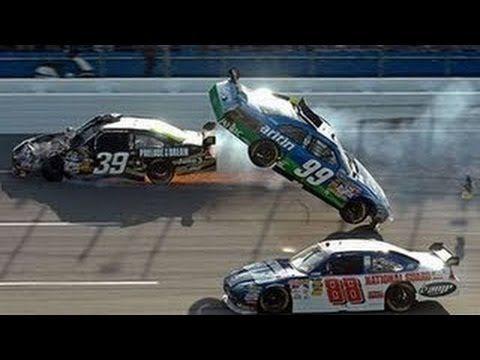 ▶ Top 10 NASCAR Crashes 2014 - YouTube
