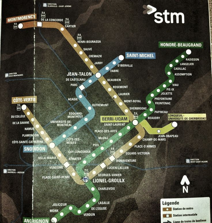 $18 Gives you 72 hours unlimited transit use. Montreal has 68 stations on 3 lines.