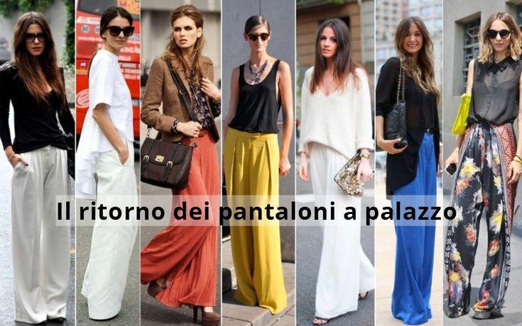 Moda primavera 2016: i pantaloni a palazzo - http://www.wdonna.it/moda-primavera-2016-pantaloni-palazzo/72599?utm_source=PN&utm_medium=Gossip&utm_campaign=72599