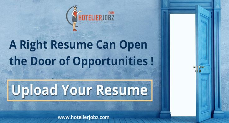 Come, join us! Upload your resume today and let us knock the doors - how to upload resume
