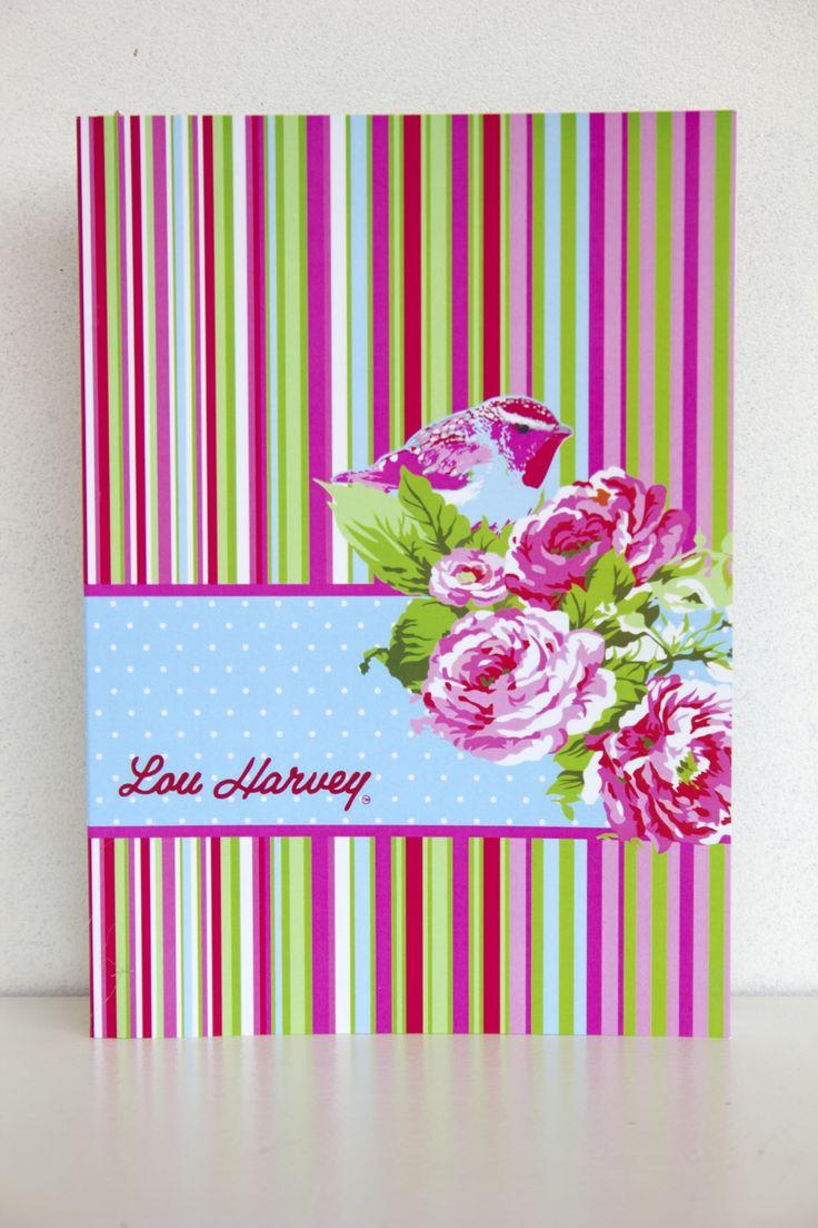 Lou Harvey notebook journal