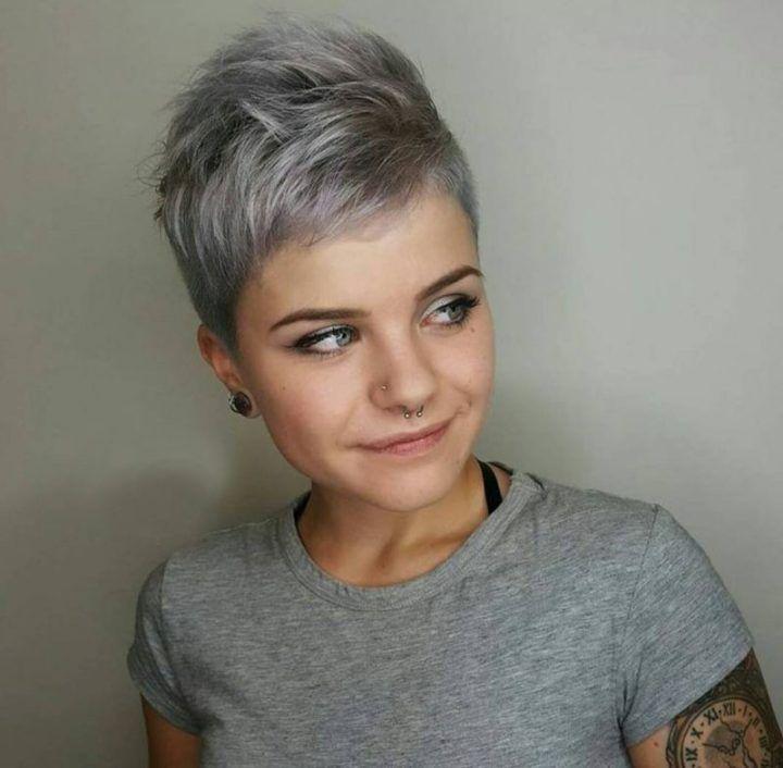 Mannerfrisuren grau farben