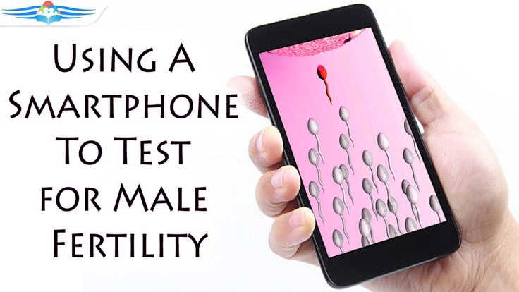 Using A Smartphone To Test For Male Fertility