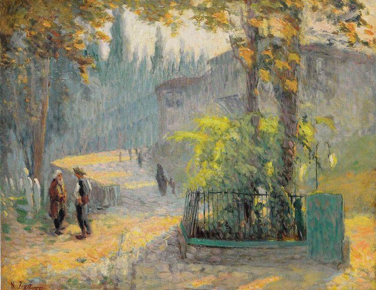 Nazmi Ziya Güran Impressionist Plein air painter