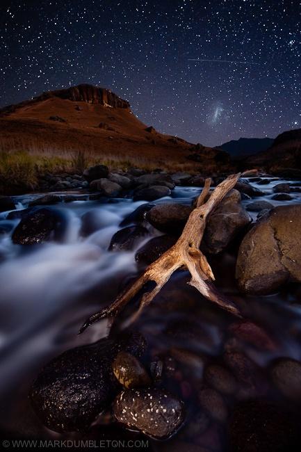 Starry Drakensberg Night by Mark Dumbleton