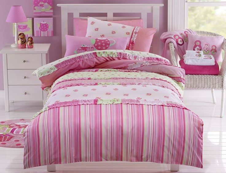 Lucy Queen Bed Quilt Cover Set