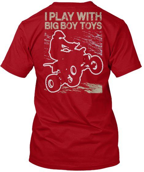 Biker Boy Toys Deep T-Shirt