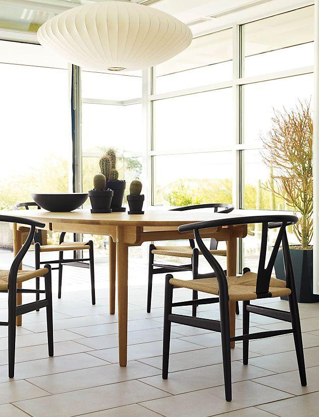 24 besten wegner wishbone chair bilder auf pinterest d nisches design st hle und k che und. Black Bedroom Furniture Sets. Home Design Ideas