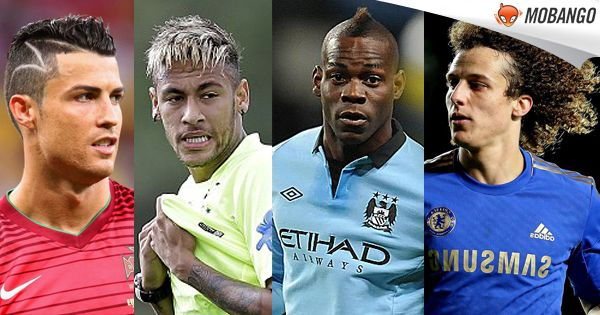 Which footballer has the sexiest Hairstyle? a) Cristiano Ronaldo b) Neymar Jr. c) Mario Balotelli - Official d) David Luiz  Get Free Soccer Games, Click:http://bit.ly/Mobango_SoccerGames