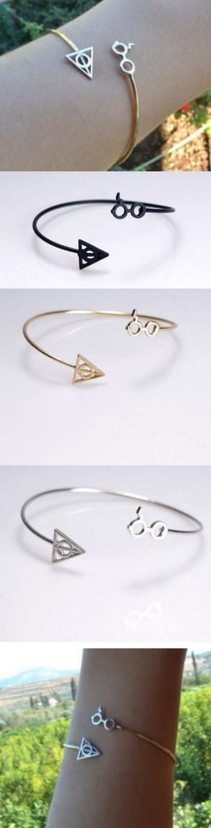 Harry Potter Death Artifact Bangles Bracelet! Click The Image To Buy It Now or Tag Someone You Want To Buy This For. #HarryPotter