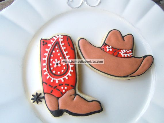 1000 Images About People Cowboy Cookies On Pinterest