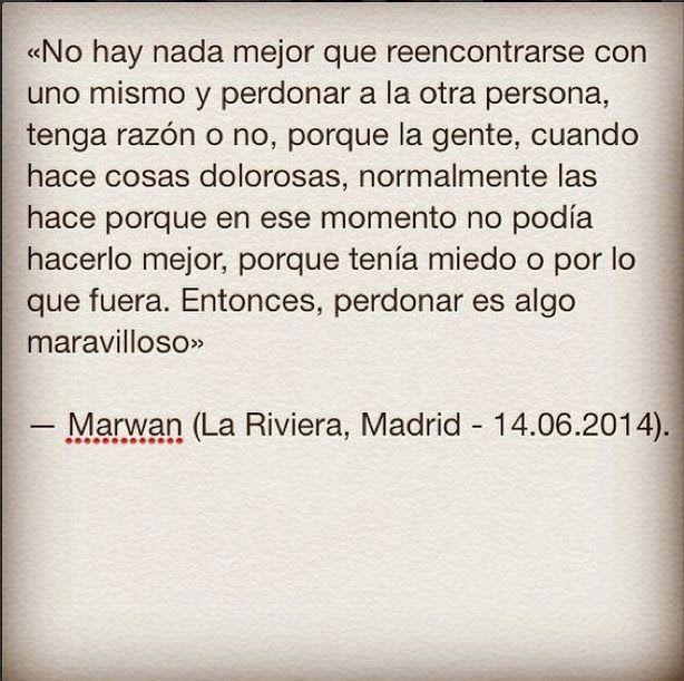 Marwan nunca es demasiado
