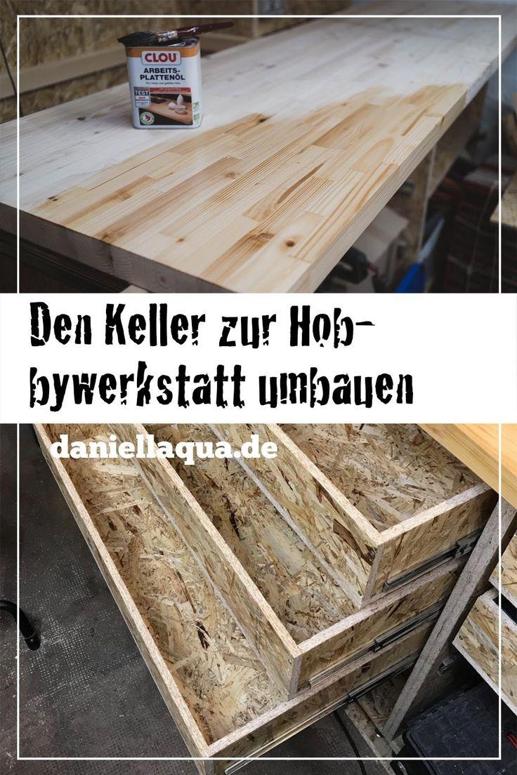 Den Keller Zu Einer Hobbywerkstatt Ausbauen Teil 3 Manner Mannerlifestyle Menslifestyle Heimwerken Schublade Selber Bauen Werkbank Selber Bauen Werkstatt