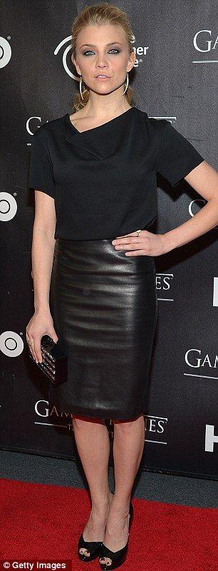 Natalie Dormer + Skirt