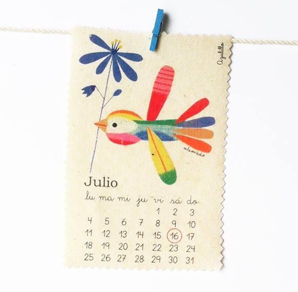 Julio/ Azulillo. Ale Oviedo