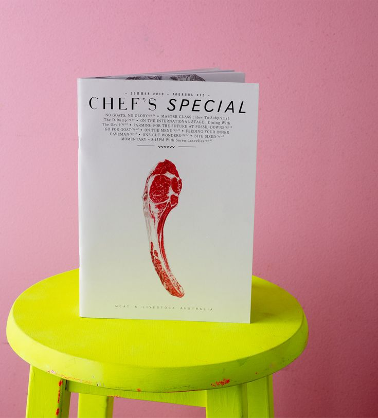 chef's special #72 | MASH - PURVEYORS OF THE FINE - ART DIRECTION & DESIGN