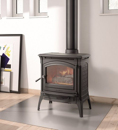 47 best new home woodstoves images on pinterest wood for Heating options for homes without gas