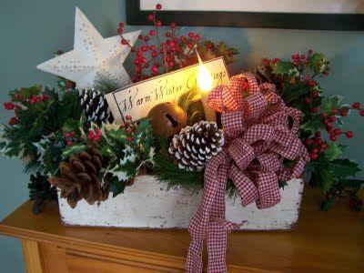 Country Christmas Display