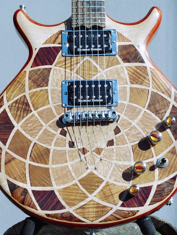 These inlays are out of control. An easy substitute would be masking and various stains.