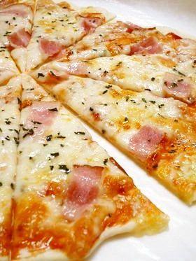 食べたい時にすぐ出来る!クリスピーピザ☆
