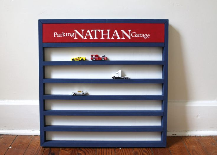 Made with Love | Hot Wheels Storage Wall Display