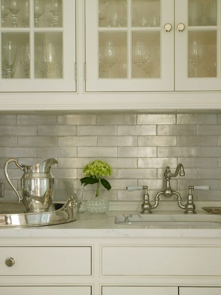 find this pin and more on design awesomeness by wykyd1 another irredescent tile kitchen backsplash