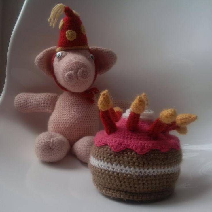 feest varken crochet