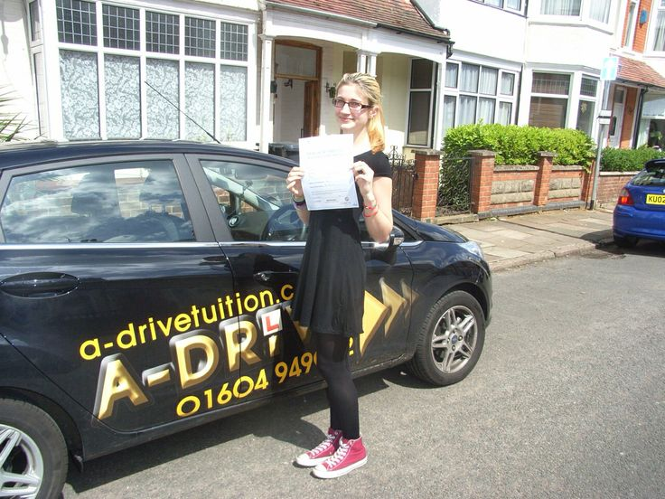 "MORE PRACTICAL DRIVING TEST SUCCESS.   Congratulations to Sarah Karbowy of H&M who passed her practical driving test 14/5/14 with only 4 minor driving faults at Northampton DTC with Aidan Checketts of www.adrivetuition.co.uk  Sarah said "" I've found my time with A Drive to be extremely helpful. I've learnt everything from scratch and cannot thank Aidan enough. Very convenient for bookings and would highly recommend to anyone wishing to learn """