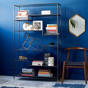 Tiered Tower Bookcase #westelm