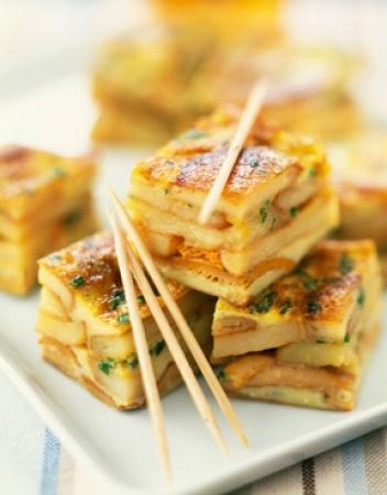 ♡ Tortilla au Chorizo ♡