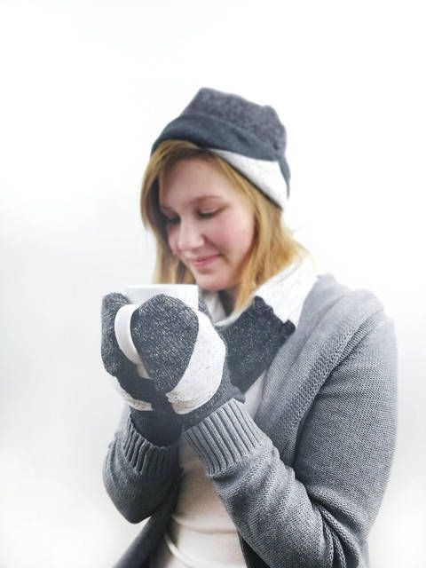 "Winterset Erwachsene ""Wandler(in)"" Mütze, Schal, Handschuhe 52-64 bei Makerist"