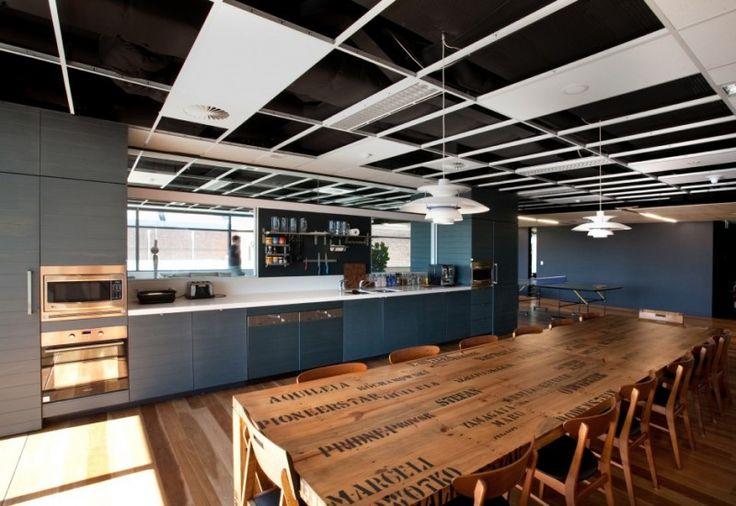 incredible fun office kitchen design   ofliho   pinterest