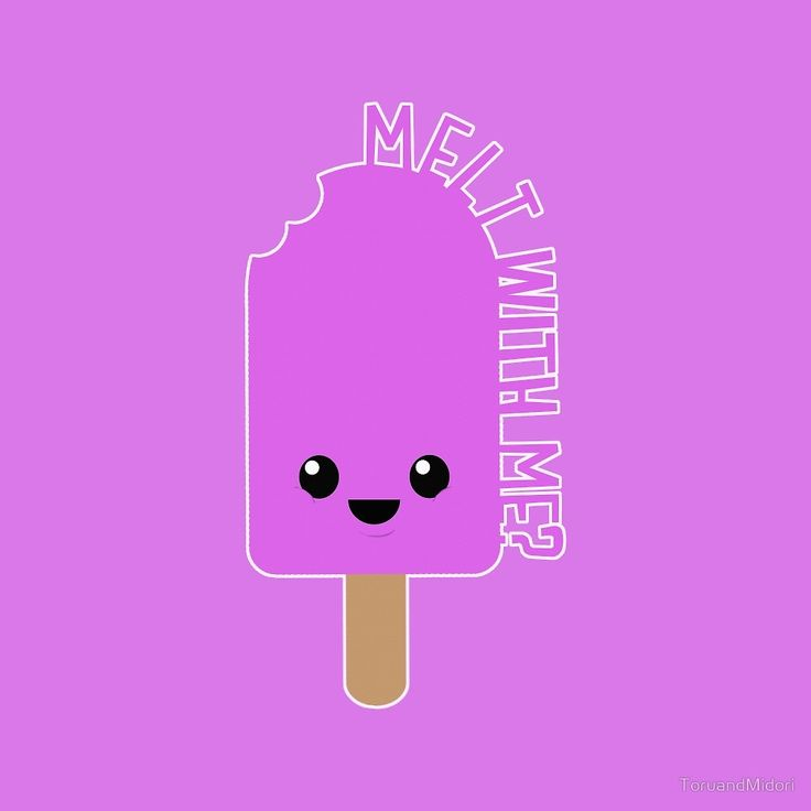 Melt With Me? by ToruandMidori  #cute, #summer, #holidays,  #kawaii, #giftideas, #tshirts,