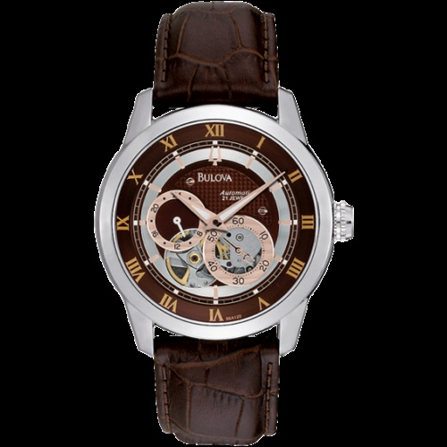 Bulova Men's watch in Steel - Orologio Uomo Meccanico in Acciaio Bulova