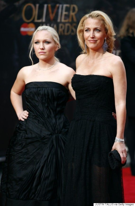Like mother, like daughter! Gillian Anderson and her daughter Piper Maru Klotz make a gorgeous duo