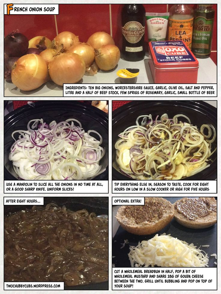 Do you have more onions than sense? Then this syn-free onion soup is ideal - make it with beer if you want, but add syns, but can also be free! Remember, at www.twochubbycubs.com we post a new Slimming World recipe nearly every day. Our aim is good food, low in syns and served with enough laughs to make this dieting business worthwhile. Please share our recipes far and wide! We've also got a facebook group at www.facebook.com/twochubbycubs - enjoy!