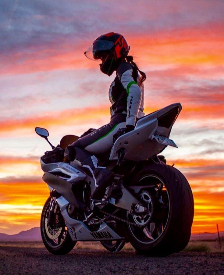 Motorrad Mädchen – #Mädchen #Motorrad   – Motosikletler
