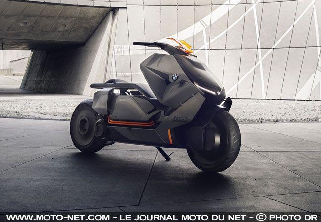 Découverte - Prototype BMW Concept Link : le scooter électrique du futur