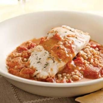 Cod with Tomato Cream Sauce | Recipes - Salty | Pinterest | Tomato ...