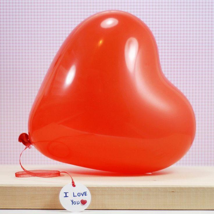 Kalp balon (6 adet)