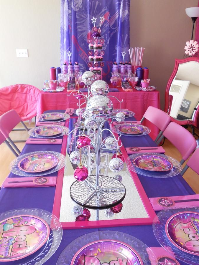 97 best images about Barbie pop star party on Pinterest ...