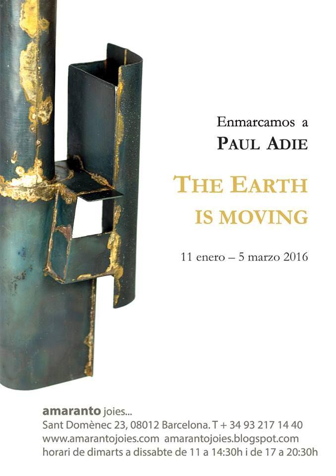 Amarantojoies - Paul Adie - 11 Janv-5 mars 2016: